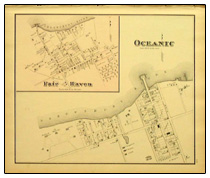 Old map of Fair Haven