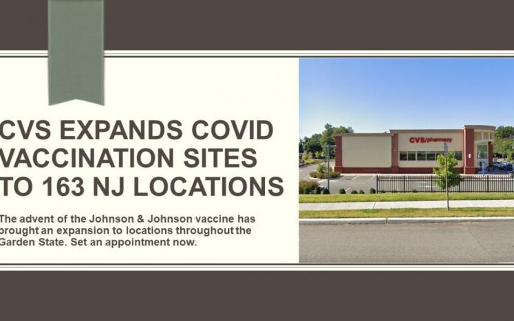 CVS Expands COVID Vaccination Sites To 163 NJ Locations