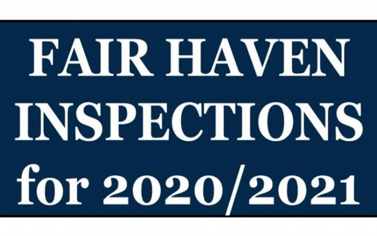 FAIR HAVEN INSPECTIONS INFORMATION